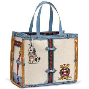 Brighton With Love We Trust Tote Bag